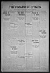 Cimarron Citizen, 04-22-1908 by Geo. E. Remley