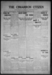 Cimarron Citizen, 05-13-1908 by Geo. E. Remley
