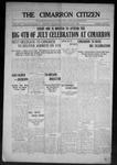 Cimarron Citizen, 07-01-1908 by Geo. E. Remley