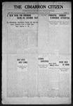 Cimarron Citizen, 09-09-1908 by Geo. E. Remley