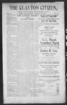 Clayton Citizen, 09-21-1906 by R. Q. Palmer