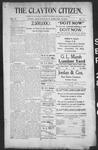 Clayton Citizen, 09-28-1906 by R. Q. Palmer