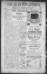 Clayton Citizen, 10-05-1906 by R. Q. Palmer