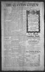 Clayton Citizen, 10-19-1906 by R. Q. Palmer