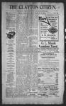 Clayton Citizen, 10-26-1906 by R. Q. Palmer