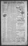 Clayton Citizen, 11-02-1906 by R. Q. Palmer
