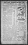 Clayton Citizen, 11-16-1906 by R. Q. Palmer