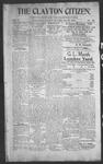 Clayton Citizen, 11-30-1906 by R. Q. Palmer