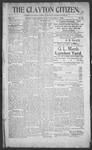 Clayton Citizen, 12-07-1906 by R. Q. Palmer