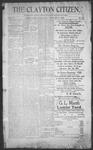 Clayton Citizen, 12-14-1906 by R. Q. Palmer