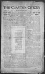 Clayton Citizen, 01-27-1916 by R. Q. Palmer