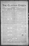 Clayton Citizen, 02-17-1916 by R. Q. Palmer