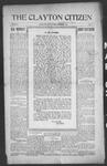 Clayton Citizen, 03-02-1916 by R. Q. Palmer