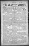 Clayton Citizen, 03-09-1916 by R. Q. Palmer