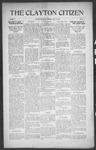 Clayton Citizen, 04-13-1916 by R. Q. Palmer