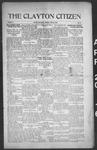 Clayton Citizen, 04-20-1916 by R. Q. Palmer