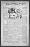 Clayton Citizen, 05-25-1916 by R. Q. Palmer