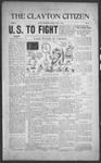 Clayton Citizen, 06-22-1916 by R. Q. Palmer