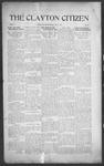 Clayton Citizen, 07-06-1916 by R. Q. Palmer