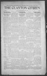 Clayton Citizen, 07-13-1916 by R. Q. Palmer