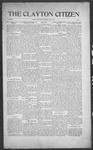 Clayton Citizen, 07-27-1916 by R. Q. Palmer
