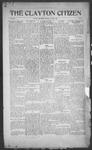 Clayton Citizen, 08-03-1916 by R. Q. Palmer