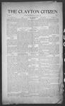 Clayton Citizen, 08-10-1916 by R. Q. Palmer