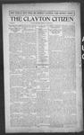 Clayton Citizen, 08-31-1916 by R. Q. Palmer