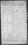 Clayton Citizen, 09-14-1916 by R. Q. Palmer