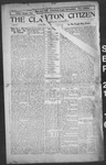 Clayton Citizen, 09-21-1916 by R. Q. Palmer