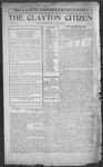 Clayton Citizen, 09-28-1916 by R. Q. Palmer