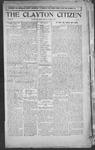 Clayton Citizen, 10-05-1916 by R. Q. Palmer