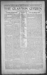 Clayton Citizen, 10-12-1916 by R. Q. Palmer