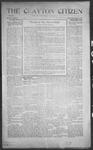 Clayton Citizen, 11-30-1916 by R. Q. Palmer