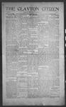 Clayton Citizen, 12-07-1916 by R. Q. Palmer
