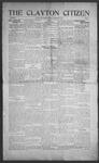 Clayton Citizen, 12-14-1916 by R. Q. Palmer