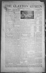 Clayton Citizen, 12-21-1916 by R. Q. Palmer