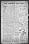Clayton Enterprise, 03-30-1906 by J. E. Curren