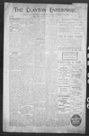 Clayton Enterprise, 04-06-1906 by J. E. Curren