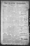 Clayton Enterprise, 06-01-1906 by J. E. Curren
