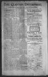 Clayton Enterprise, 06-22-1906 by J. E. Curren