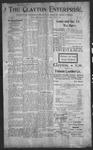 Clayton Enterprise, 07-27-1906 by J. E. Curren