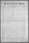 Clayton News, 01-22-1921 by Suthers & Taylor