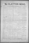 Clayton News, 01-29-1921 by Suthers & Taylor