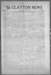 Clayton News, 04-02-1921 by Suthers & Taylor