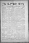Clayton News, 04-16-1921 by Suthers & Taylor
