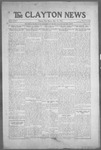 Clayton News, 05-14-1921 by Suthers & Taylor
