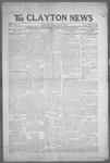 Clayton News, 05-28-1921 by Suthers & Taylor