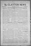 Clayton News, 06-04-1921 by Suthers & Taylor
