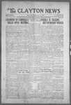 Clayton News, 06-11-1921 by Suthers & Taylor